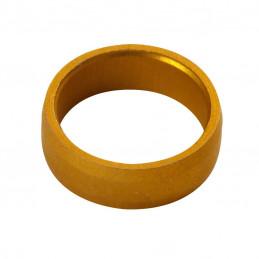 TARGET SLOT LOCK RING GOLD