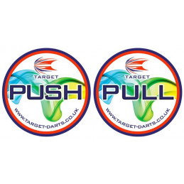 TARGET Push/Pull Stickers