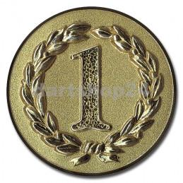 Pokal-Reliefemblem Erster Gold