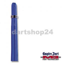 Schaft-Set M3 Nylon lang Blau