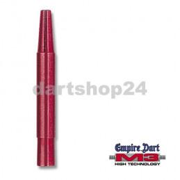 Schaft-Set M3 Alu kurz Rot