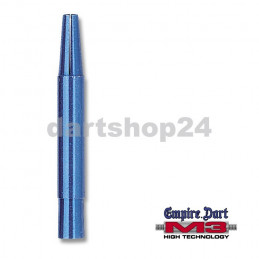 Schaft-Set M3 Alu lang Blau