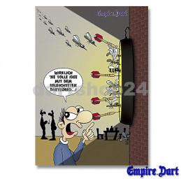 Dartposter Comic