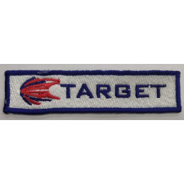 TARGET EMBROIDERED BADGE